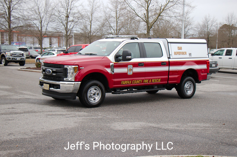 Fairfax County, VA Fire and Rescue Department EMS Supervisor