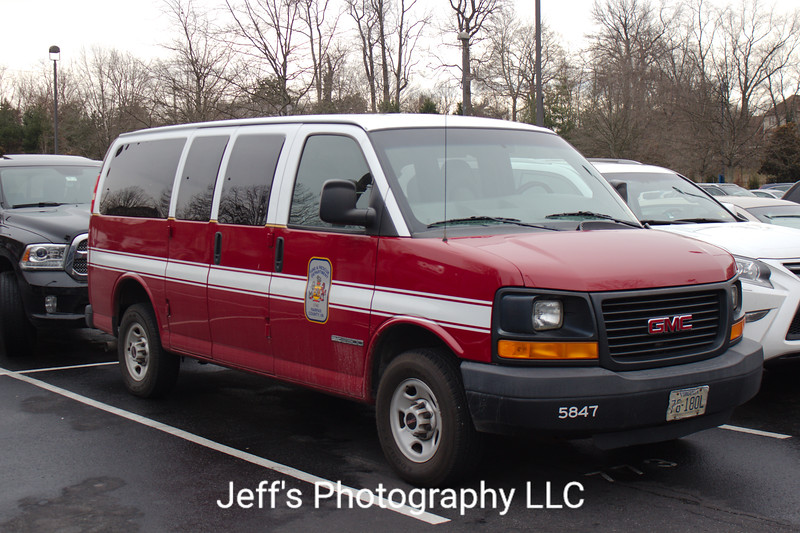 Fairfax County, VA Fire and Rescue Department Utility #5847
