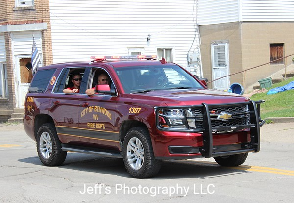 City of Benwood, WV Fire Department Chief's Car #1307