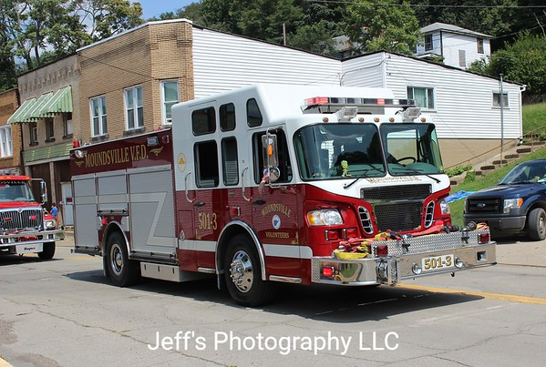 Moundsville, WV Volunteer Fire Department Pumper #501-3