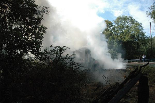 SEPTA Bus Fire