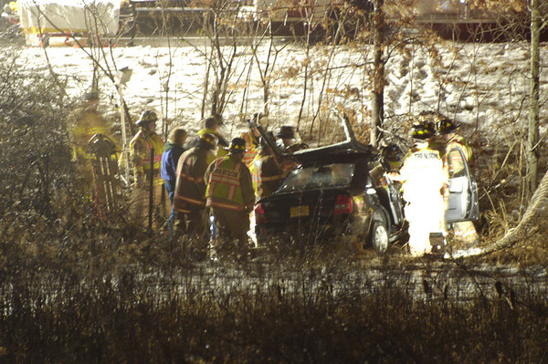 Vehicle Accident - Route 100 South at 202 - 1-28-09 - 1910 hours