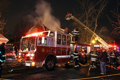 New Milford 2nd Alarm Structure Fire  Main St. 2-12-14