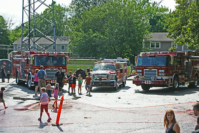 Ramsey Fire Department Daul Wetdown 6-28-14