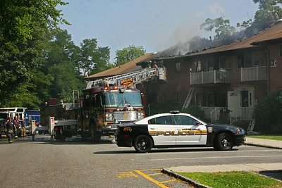 Spring Valley Multi Alarm Apt. Fire 8-5-14