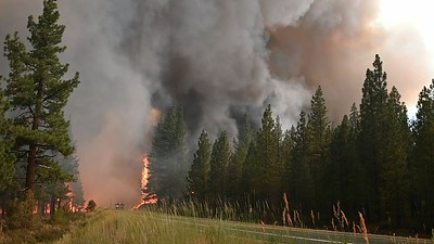 A-210717 Fire on Hwy 89