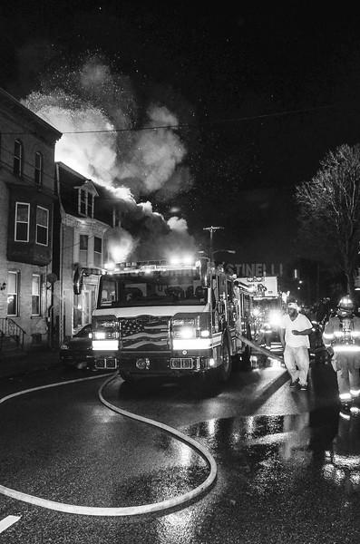 20MAR14 York City 700 Block of W Philadelphia St. 3rd Alarm CSF