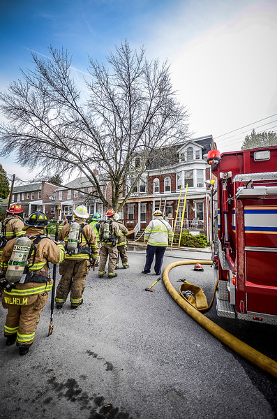 22APR14 York City 600 Blk N Pershing 1 Alarm RSF