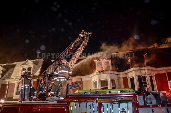 29APR14 West York 1200 Blk Poplar St 4th Alarm RSF