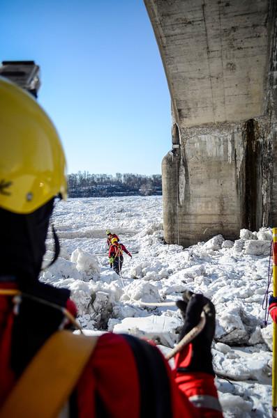 18JAN14 Harrisburg Ice Rescue Training