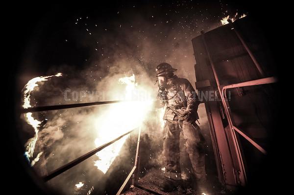 22NOV13 Harrisburg Fire Flashover Simulator
