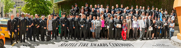 Seattle Fire Department Awards Ceremony 2017