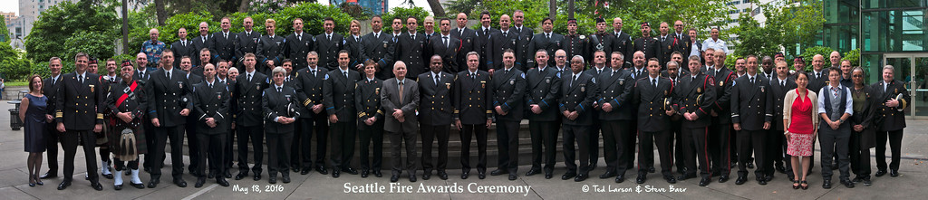 2016 Seattle Fire Awards Ceremony