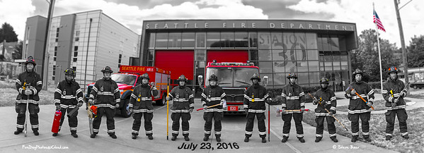 Seattle Fire Station 30, Artsy with blur