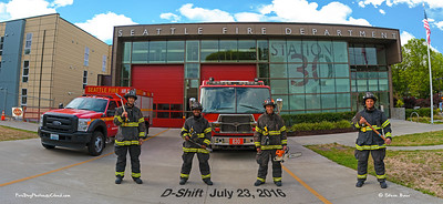 Seattle Fire Station 30, D-Shift in Bunkers