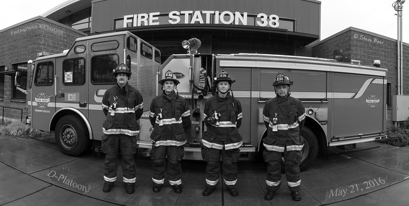 Engine 38 D-Platoon B&W