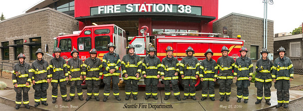 Seattle Fire Station 38 ABCD Platoons