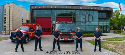Seattle Fire Station 30, A-Shift in Class B