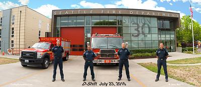 Seattle Fire Station 30, D-Shift in Class B