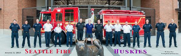 Seattle Fire Department Huskies