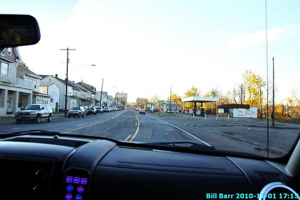 Hazleton, dump fire 11/1/10