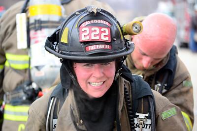 """""""Good Job"""" Becky - First Interior Working Fire."""