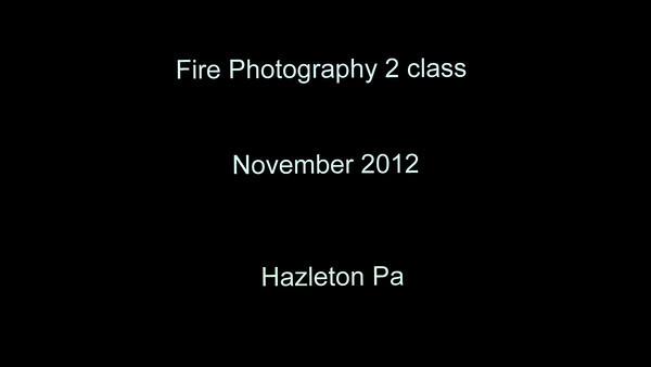 Fire Photography 2 Class