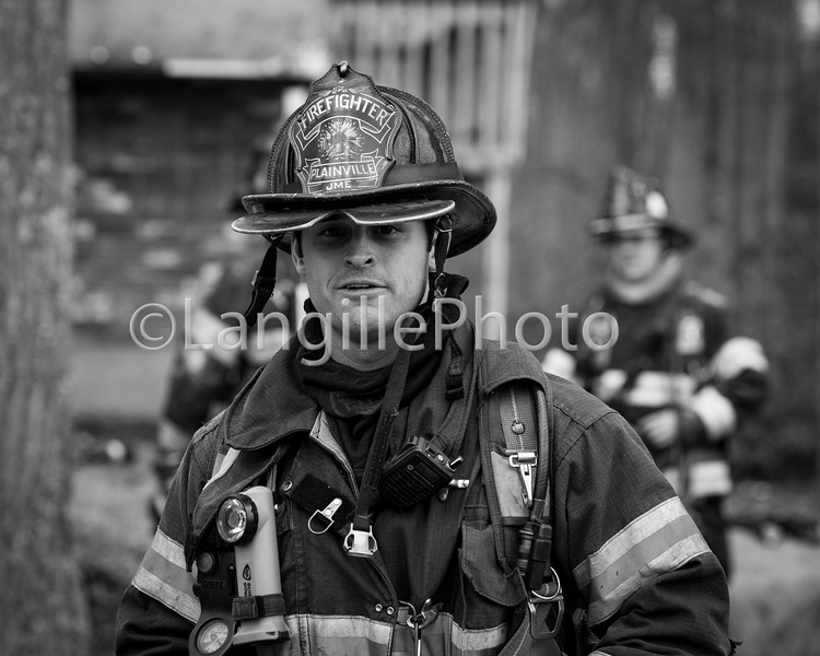 Plainville practice burn-14