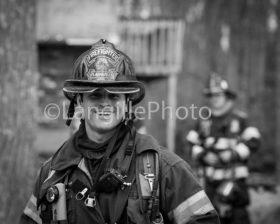 Plainville practice burn-15