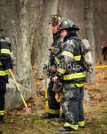 Plainville practice burn-13