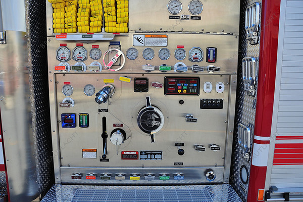 Engine 2 Pump Panel American La France  Buffalo Fire Department 2011