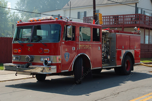 Engine 2 Pierce  Buffalo Fire Department