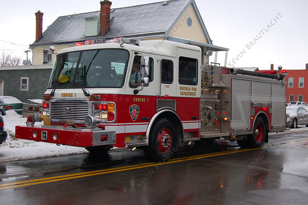 Engine 1 American La France  Buffalo Fire Department