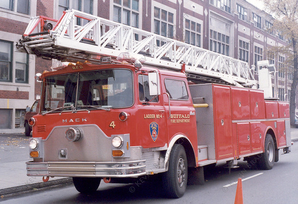 Ladder 4 Mack Buffalo Fire Department