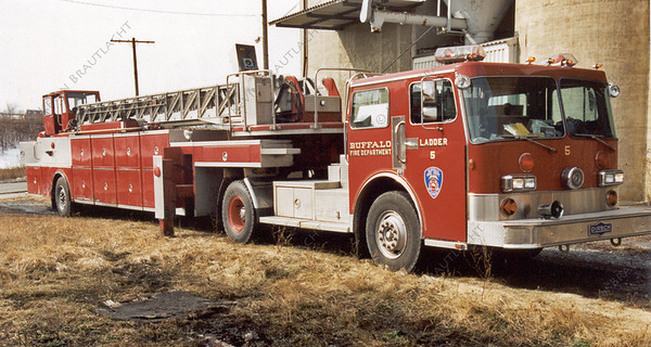 Ladder 5 Tiller Pirsch Buffalo Fire Department