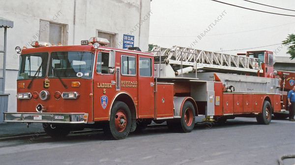 Ladder 5 Tiller Buffalo Fire Department