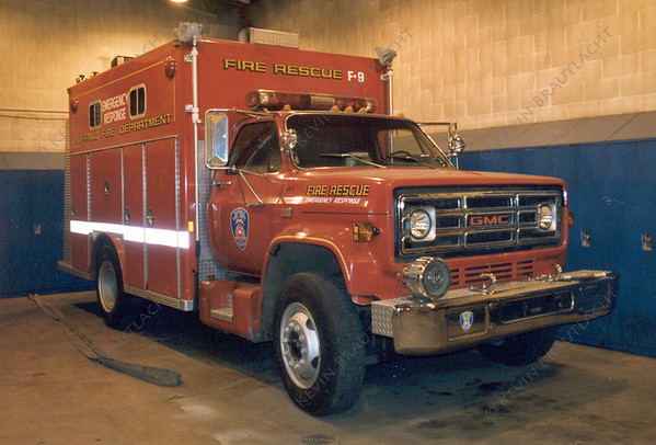 F-9 Old Rescue 1's rig  Buffalo Fire Department