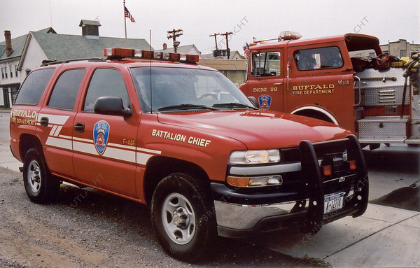6th Battalion Chief (B46) Buffalo Fire Department