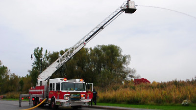 Ladder 10 training with their new ladder, October 2011