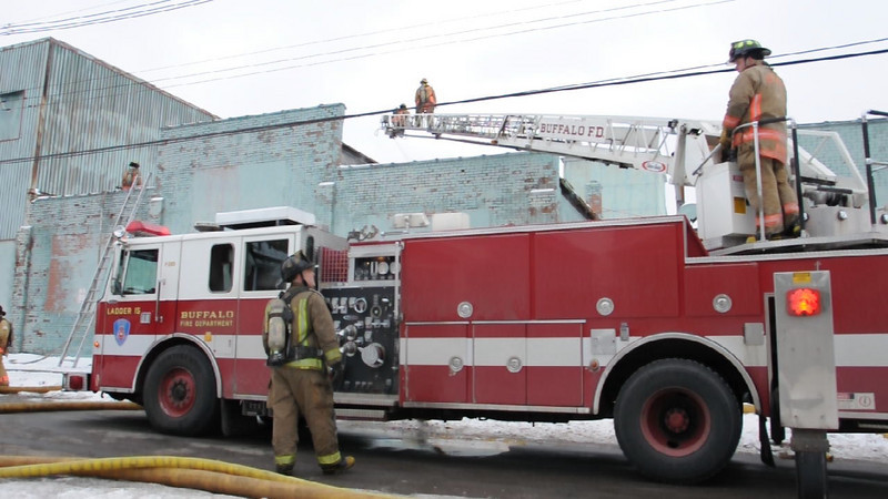 "HD Video - Ladder 15 at work Click on ""play"" button to watch!"