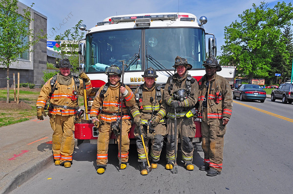 Crew of Rescue 1, Buffalo Fire Department