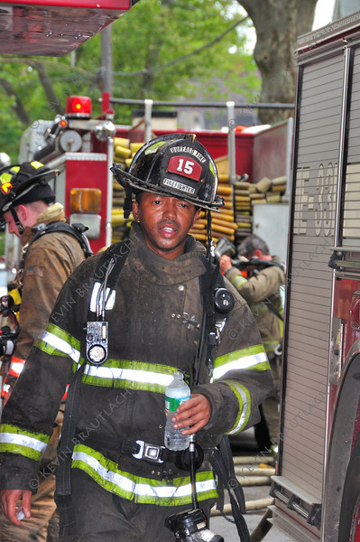 Firefighter Ernie Gilliam from Ladder 15