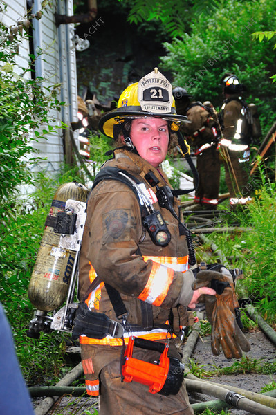 Lt. Wendy Majtyka-Hartman from Engine 21