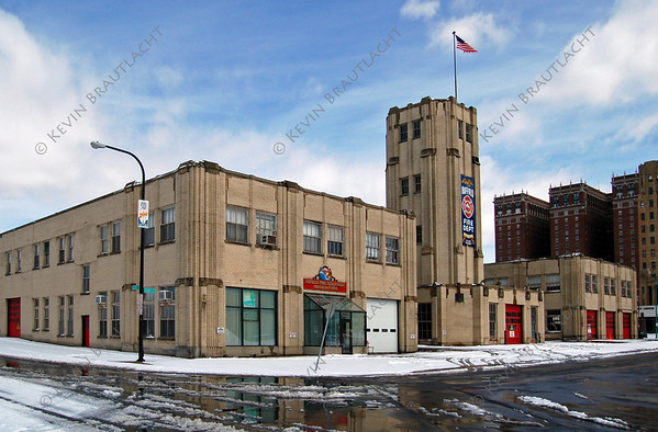 Buffalo, NY Fire Headquarters Complex 195 Court at 7th Streets