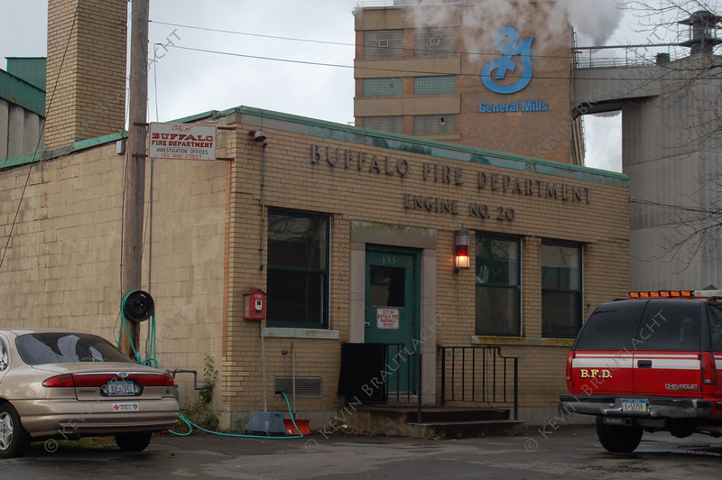 Buffalo, NY Engine 20 (Fireboat) Former Fire Investigation Office 155 Ohio Street at Michigan