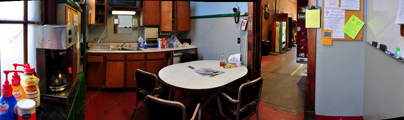 Panorama of kitchen