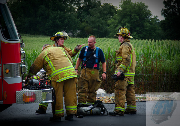 Liberty Twp / Chesterton Attached Garage Fire 081709