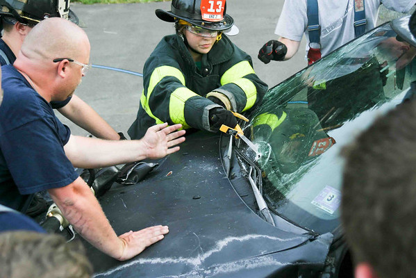 Station 13 extrication training