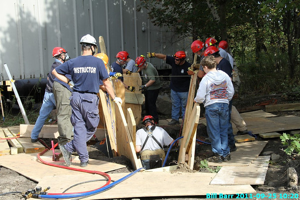 Trench Class 9/25/11 at Hazleton