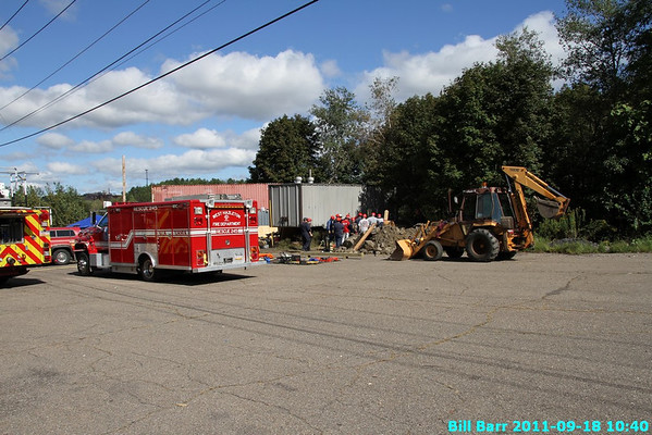 Trench Rescue at Hazleton 9/18/11